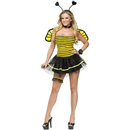 Busy Bee Adult Halloween Costume](Women Bee Costume)