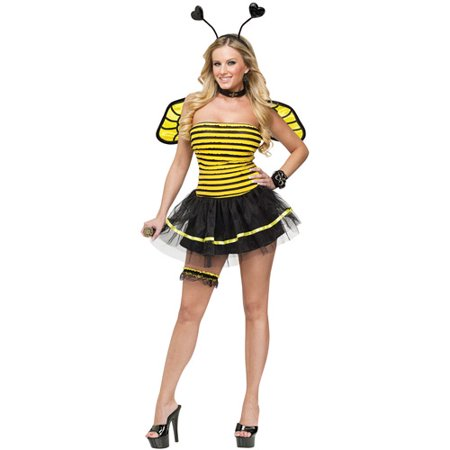 busy bee adult halloween costume. Black Bedroom Furniture Sets. Home Design Ideas