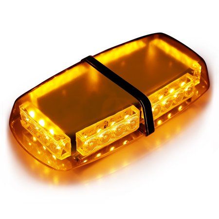 - Finether 24 LEDs Emergency Vehicle Light Bar Strobe light Hazard Police Warning Flash Flashlight Enforcement Lights