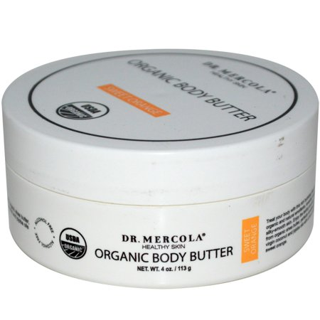 Lime Orange Butter (Dr. Mercola - Organic Body Butter Orange 4 oz 30015 Exp.9.18+ ASD)
