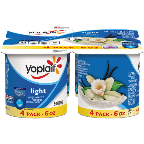 Yoplait Light Very Van...