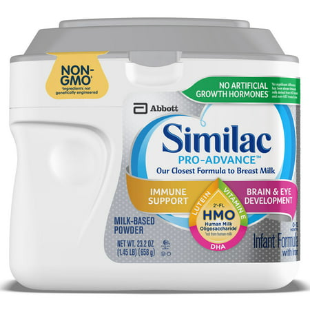 Similac Pro Advance Non Gmo With 2 Fl Hmo Infant Formula