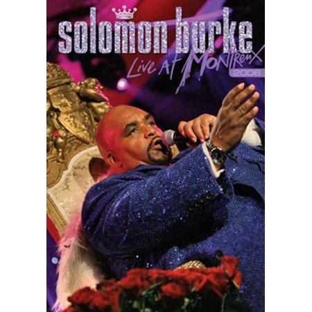 Solomon Burke: Live At Montreux 2006 (DVD)