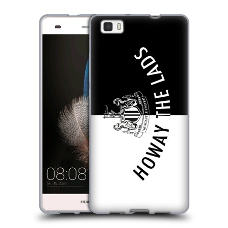 Official Newcastle United Fc Nufc Howay The Lads Tunnel Sign Soft Gel Case For Huawei Phones