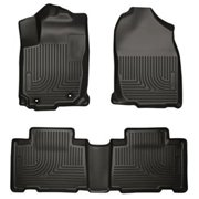 HUSKYLINER 98971 Rubber Floor Liner, Black - 2013-2015 Toyota RAV4