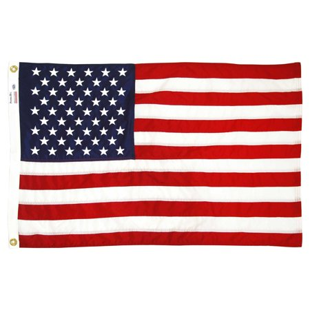 - USA Flag 2ft x 3ft Sewn Nylon by Valley Forge Flag