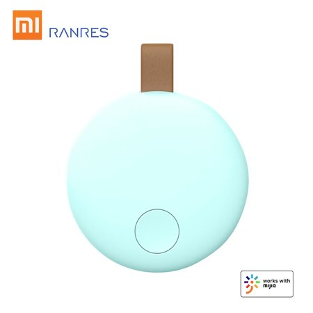 Xiaomi Ranres Smart Mini Finder Wireless Two-way BT APP Tracking Reminder Anti-lost Alarm Positioning Finder for Child Key Wallet Package (Best Iphone Finder App)