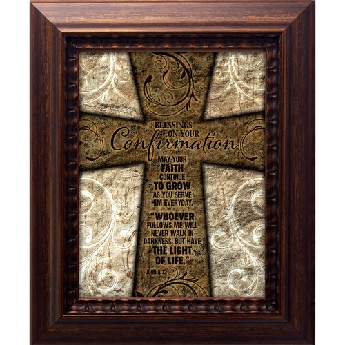 The James Lawrence Company Blessings On Your Confirmation Framed Graphic Art