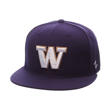bd0210bacee3f Washington Huskies Official NCAA Slider Size 6 3 4 Fitted Hat Cap by Zephyr  439548