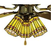 Prairie Corn Fan Light Shade