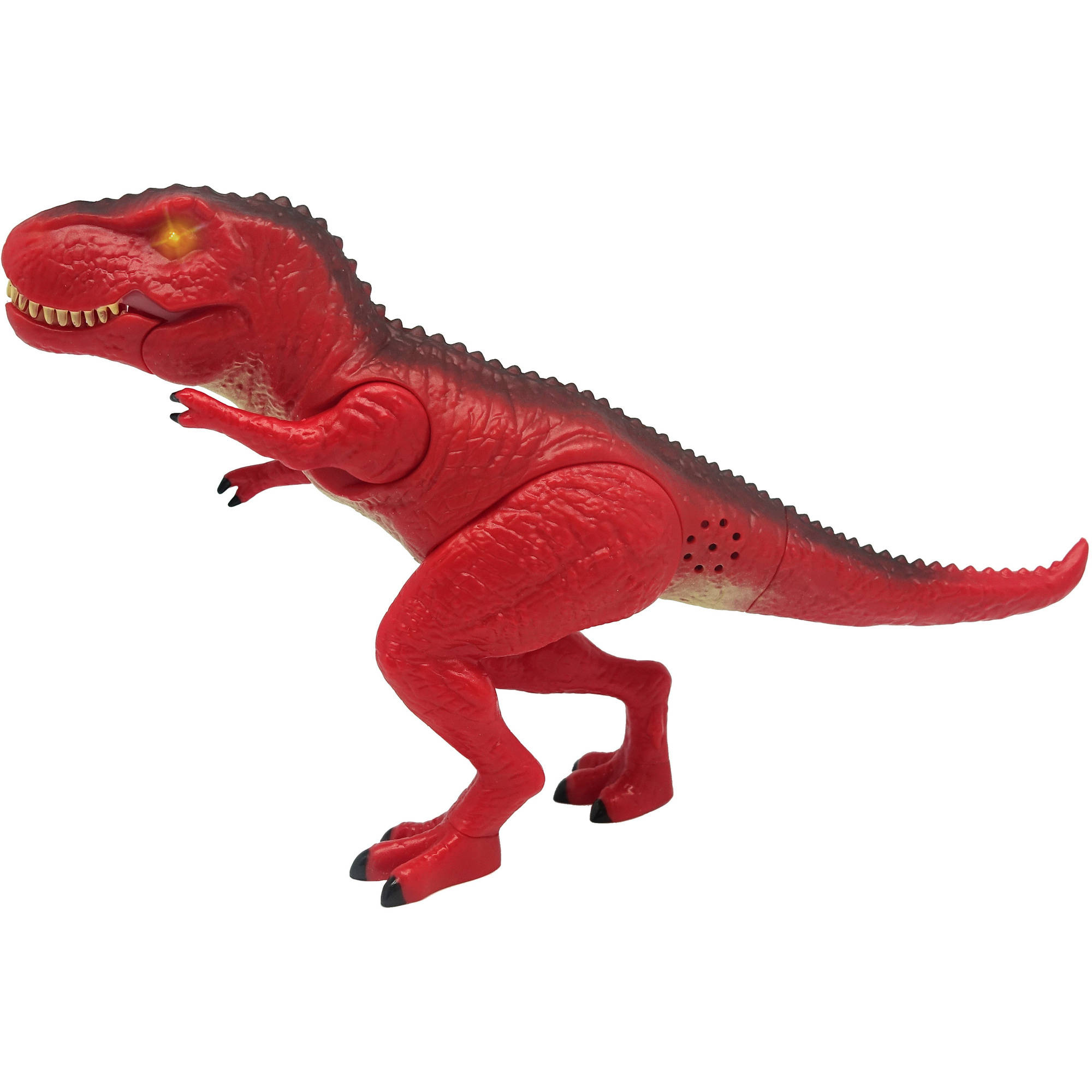 """Image of Adventure Force 8"""" Mini Mighty Megasaur, T-Rex, Red"""