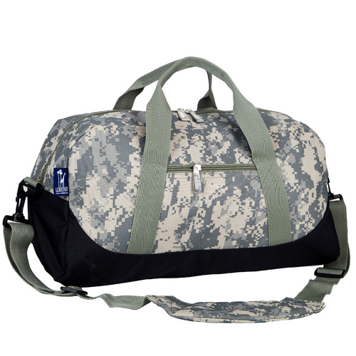 Wildkin Digital Camo Overnighter Duffel Bag by Wildkin