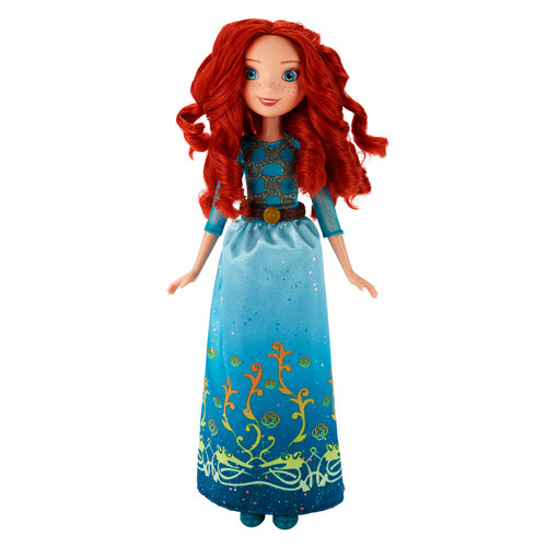 Disney Princess Royal Shimmer Merida Doll by Hasbro