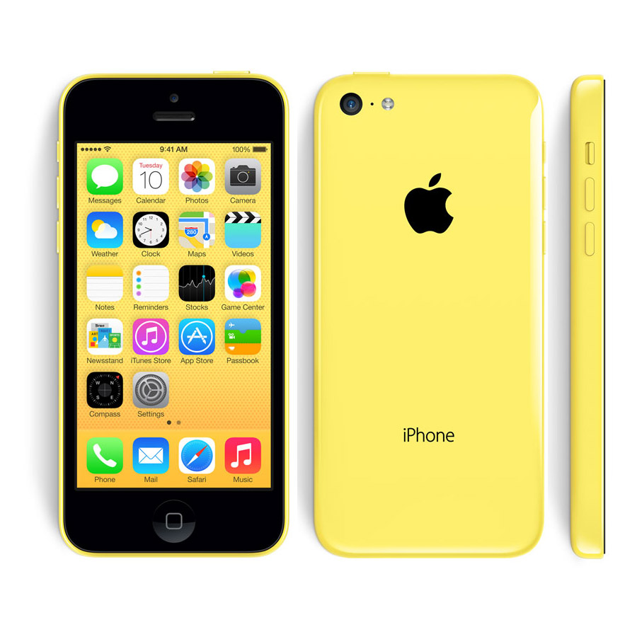 Apple iPhone 5C 8GB CDMA/GSM LTE Factory Unlocked Smartph...