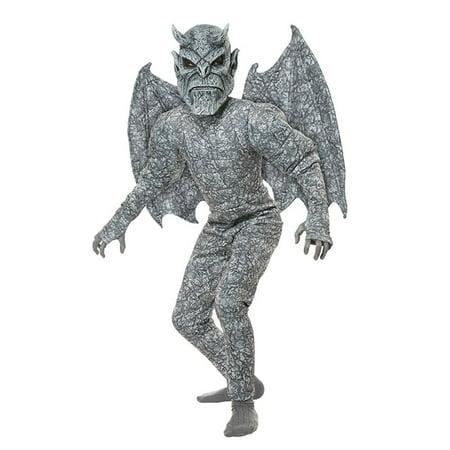 Ghastly Gargoyle Child Costume, Large - Gargoyle Feet