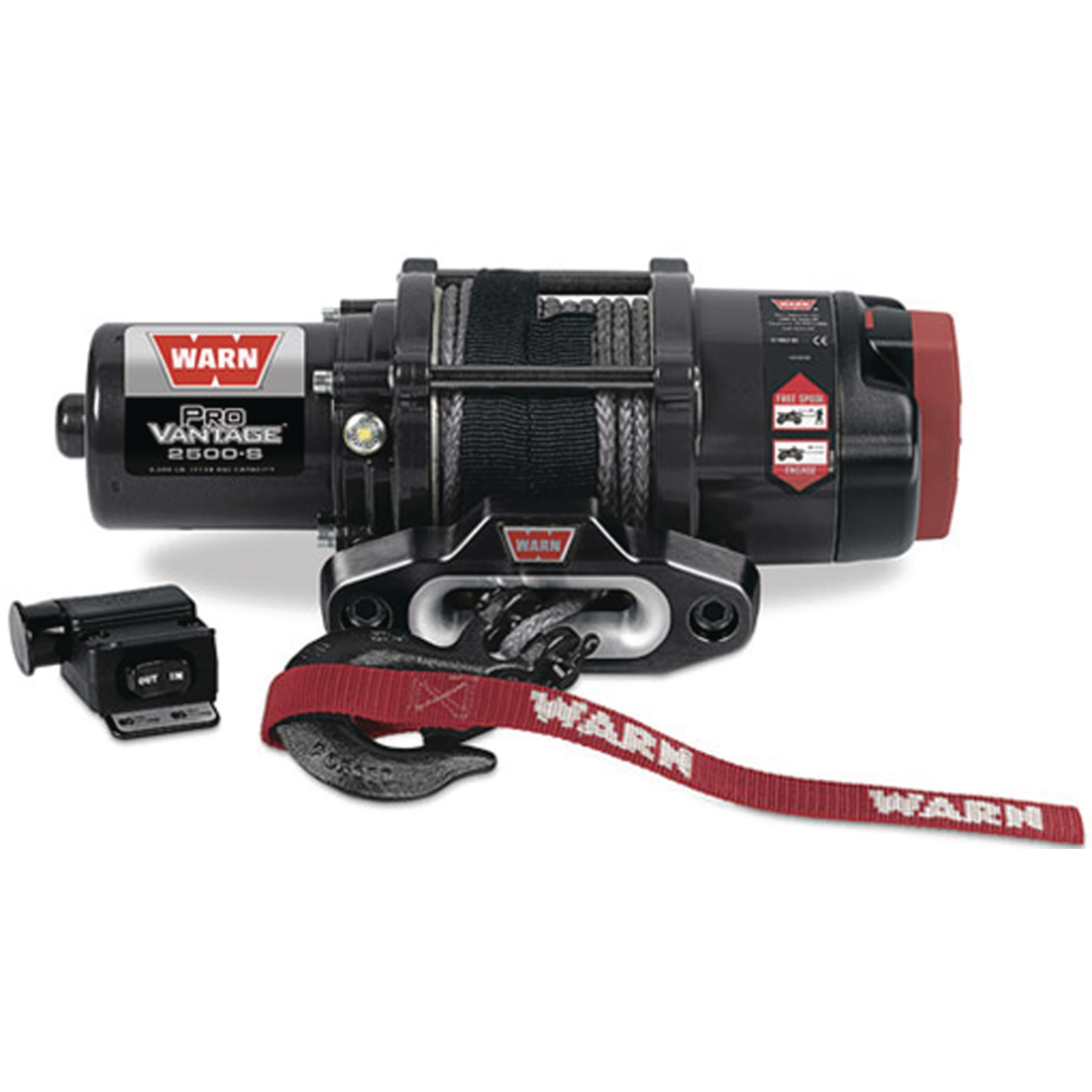 "Warn 90251 ProVantage 2500 lb Capacity RV Winch - 50' x 3/16"" Cable"
