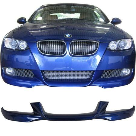 381 Shank (2007-2010 e92 e93 3 series m-tech msport painted front lip #381 lemans blue metallic)