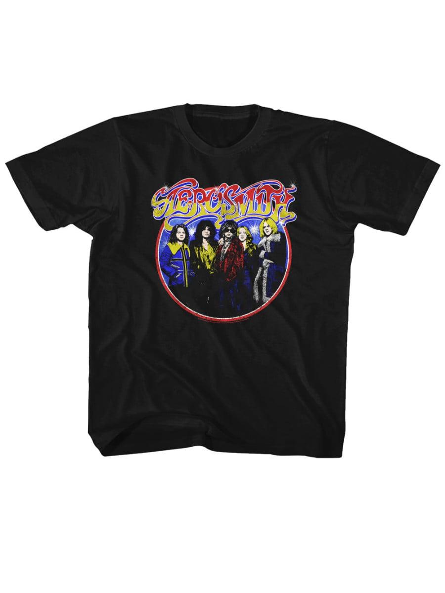 Aerosmith American Rock Band Ze Bad Print Toddler T-Shirt Tee