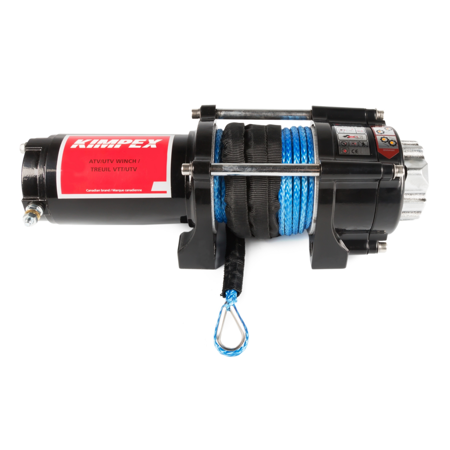 KIMPEX 3500 lbs Winch with Synthetic Rope   #458253