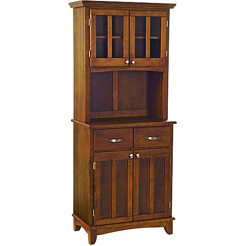 Home Styles Small Buffet & Two-Door Hutch, Cherry Finish