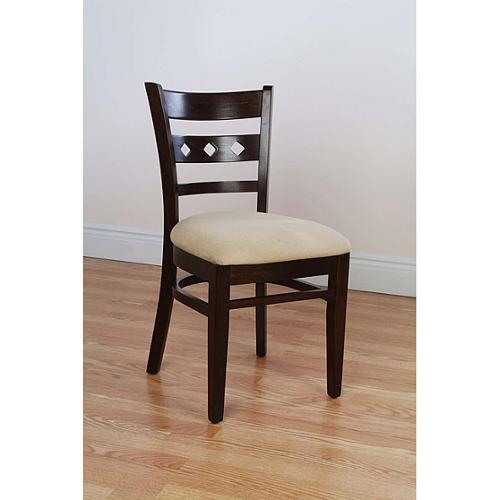 Beechwood Mountain Diamond Back Walnut Dining Chairs (Set of 2) by Overstock