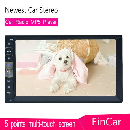 Newest Car Radio Mp5 Player No Gps Double Din Stereo Superior Linux System For Bluetooth In Dash 2 Din Autoradio Audio Headunit Wirh 7 Inch Capacitive Touch Screen