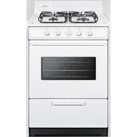 WTM6107SW 24 Gas Range with 4 Sealed Burners  2.92 cu. ft. Oven Capacity  Broiler Compartment  Porcelain Construction  Electronic Ignition and Oven Viewing Window  in