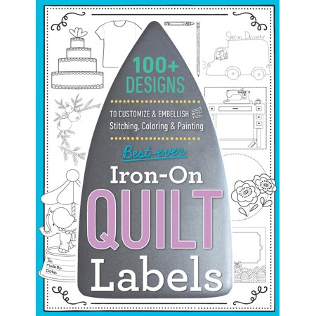 Best-Ever Iron-On Quilt Labels-Variety Of Styles - image 1 de 1