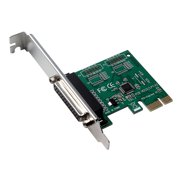 PCI-E Parallel Port Expansion Card PCI Express to LPT Port Converter Adapter for Tax Printer POS