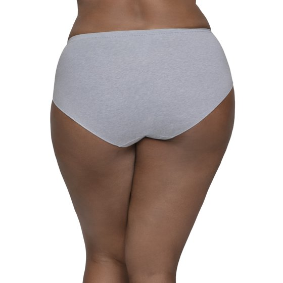 76f8befff9a3 Fit for Me by Fruit of the Loom - Women's Plus Assorted Beyondsoft Brief  Panties, 6 Pack - Walmart.com