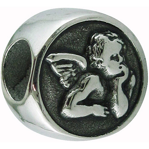 Connections from Hallmark Stainless-Steel Angel Charm