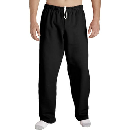 Mens Open Bottom Pocketed Jersey Pant - Mens Hippie Pants