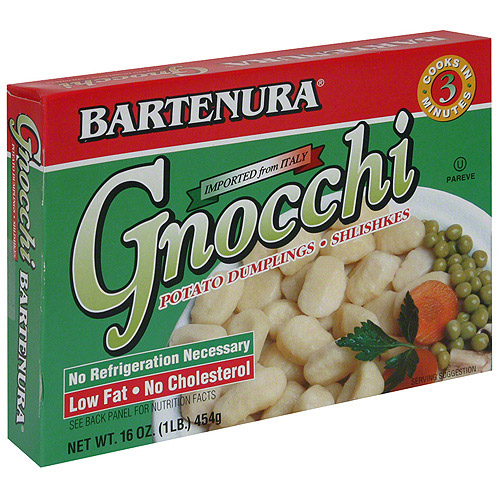Bartenura Gnocchi Potato Dumplings, 16 oz (Pack of 12)