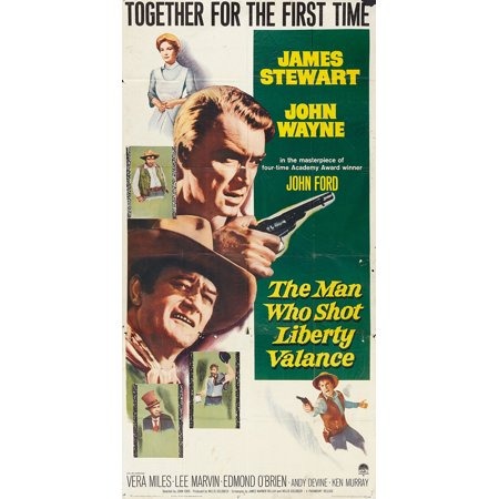 The Man Who Shot Liberty Valance Poster Movie E Mini Promo