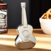 Maxam 4oz Stainless Steel Acoustic Guitar Shaped Flask