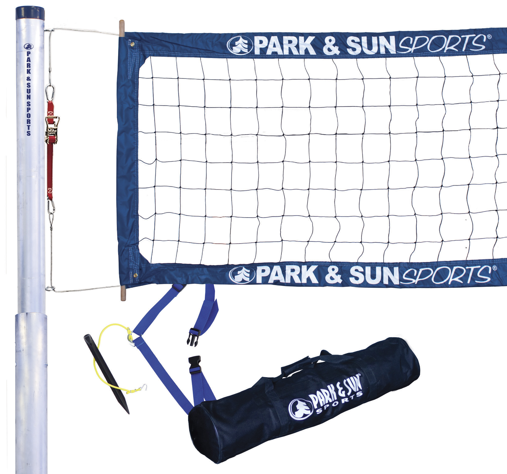 Park & Sun Sports 4000-T semi-permanent/permanent volleyball set