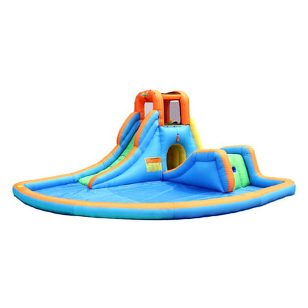 Bounceland Cascade Inflatable Water Slides with Large