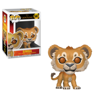 Funko POP! Disney: Lion King (Live Action) - Simba