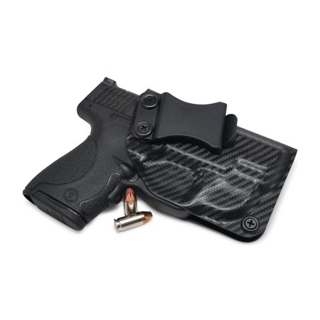 Concealment Holster - Concealment Express: S&W M&P Shield 9/40 w/Green CTC Laser IWB KYDEX Holster