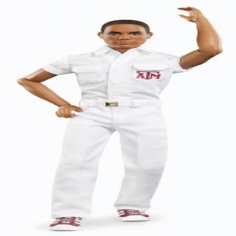 Mattel Barbie Collector Texas A University African-American Ken Doll