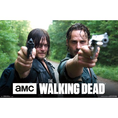 Trends International The Walking Dead Double Barrel Wall Poster 22.375