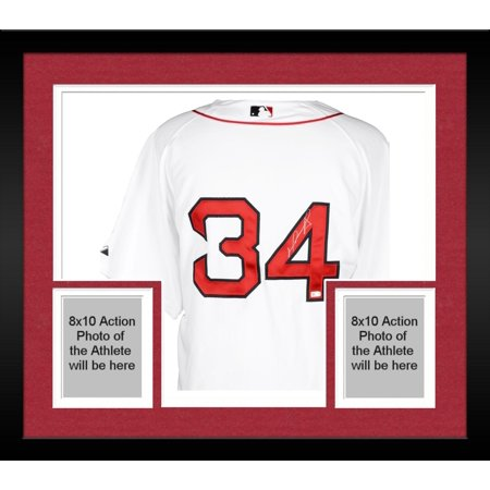 Framed David Ortiz Boston Red Sox Autographed Majestic Authentic White  Jersey - Fanatics Authentic Certified 844de339b77