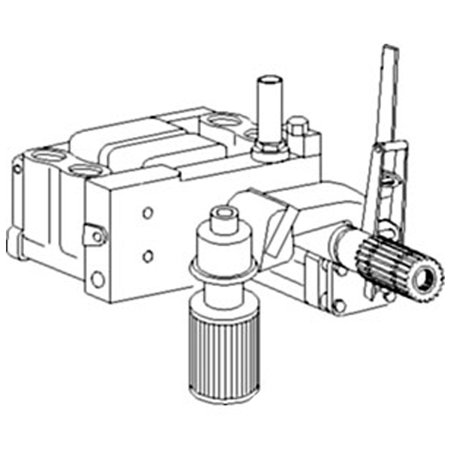 3614362M93 New Massey Ferguson Hydraulic Pump 360 362 365