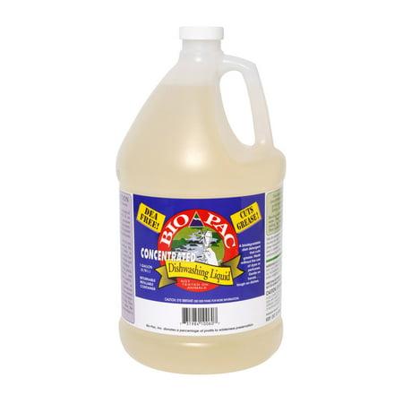 Bio-Pac Dishwashing Liquid - Concentrated - Case of 6 - 1 (Concentrated Liquid Case)