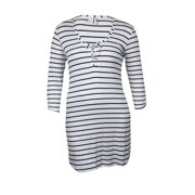 Kenneth Cole REACTION Women's Striped Knit Tunic Swim Cover