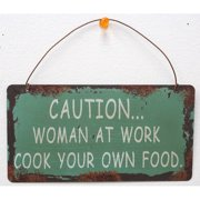 Attraction Design Home Caution Wisdom Sign Wall D cor