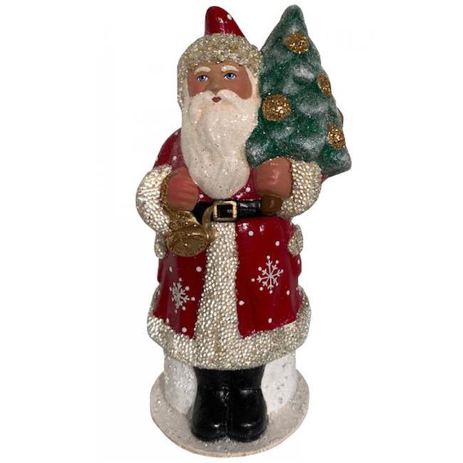 Alexander Taron 1918 Schaller Paper Mache Candy Container Santa With Snowflake Coat Walmart Canada