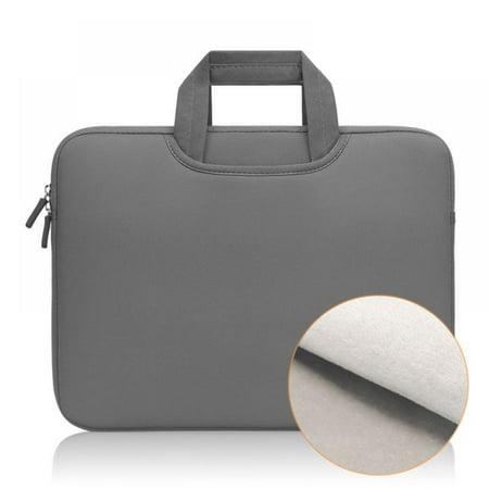11-15.6 Inch Laptop Sleeve Bag Case, Laptop Protective Bag for Macbook Apple Samsung Chromebook HP Acer Lenovo, Portable Laptop Sleeve Liner Package Notebook Case Gray