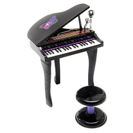 37 Keys Kids Mini Toy Grand Piano Electronic Keyboard