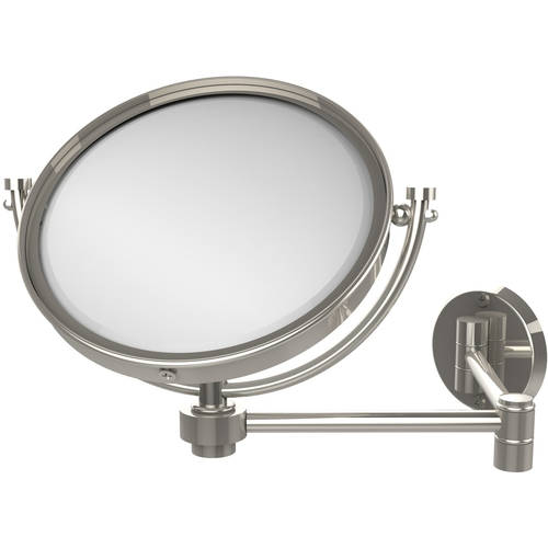 """8"""" Wall-Mounted Extending Make-Up Mirror, 5x Magnification (Build to Order)"""